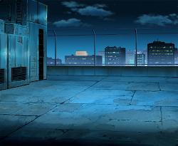 anime background scenery landscape outdoor hospital